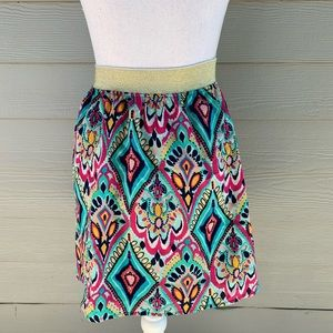 Lilly Pulitzer Skirts - Lilly Pulitzer Crown Jewels Print Pull-On Skirt